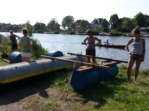 raft buiding