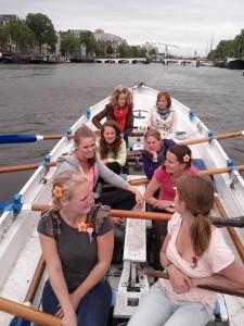 sloeproeien op de Amstel