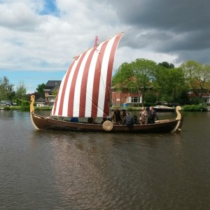 Viking sailing
